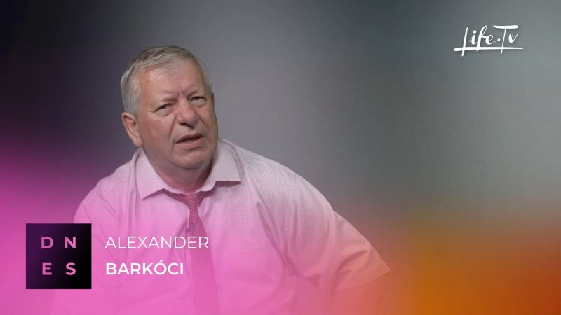 DNES: Alexander Barkóc