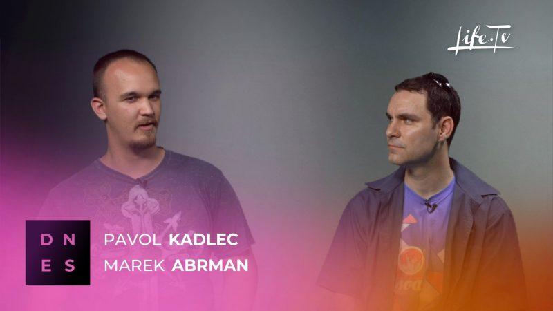 DNES: Pavol Kadlec a Marek Abrman