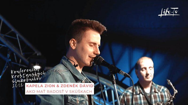 Konferencia Kresťanských Služobníkov 2018 | Kapela Zion & Zdeněk Dávid (5)