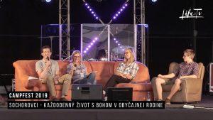 CampFest 2019 | Sochorovci - Každodenný život s Bohom v obyčajnej rodine