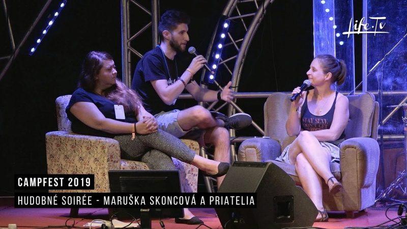 CampFest 2019 | Hudobné soirée - Maruška Skoncová a priatelia