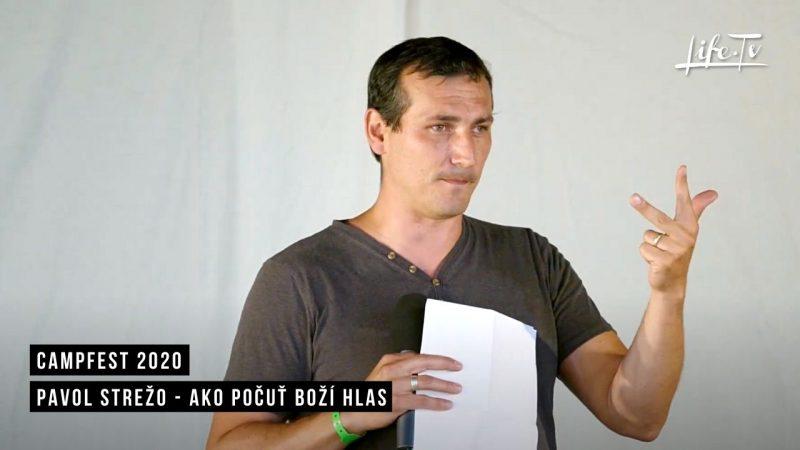 CampFest 2020 | Pavol Strežo - Ako počuť Boží hlas