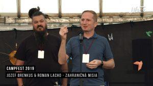 CampFest 2019 | Jozef Brenkus & Roman Lacho - Zahraničná misia