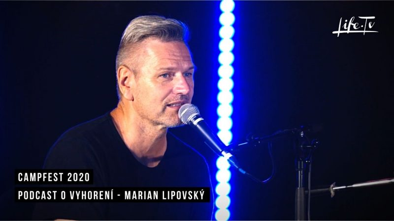 CampFest 2020 | Podcast o vyhorení - Marian Lipovský